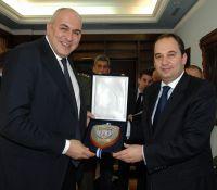 Ο Γιάννης Πλακιωτάκης με τον ομόλογο του Guido Crosetto