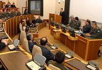 Μιλώντας στους Έλληνες αξιωματικούς που υπηρετούν στο SHAPE