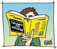 Διαβάζοντας, ανάποδα