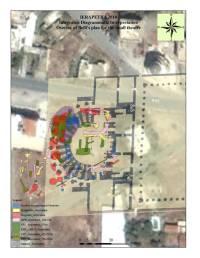 αποτύπωση αρχαίου θεάτρου στην Ιεράπετρα σε δορυφορική φωτογραφία