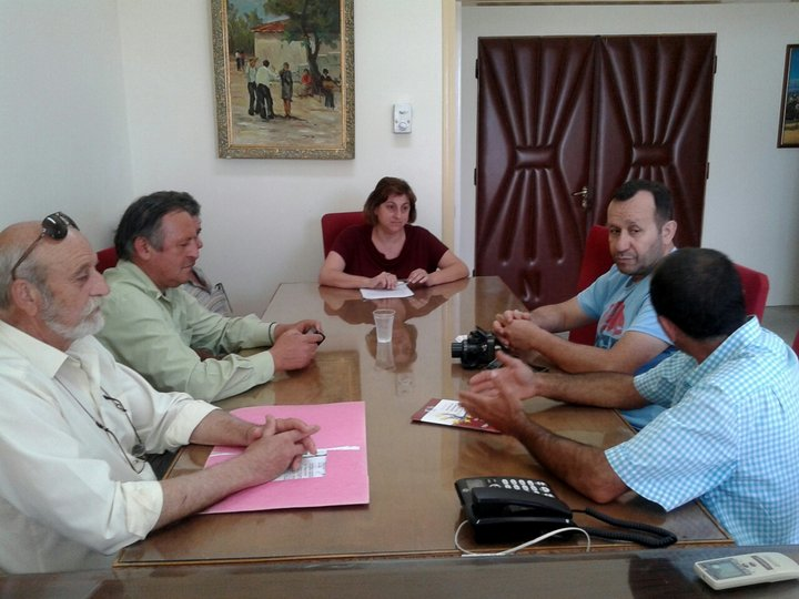 η Επιτροπή Συλλόγων και Φορέων για την βόσκηση με την αντ. Πελαγία Πετράκη