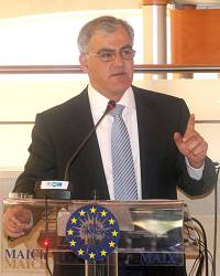Σεραφείμ Τσόκας, κατά την εισήγηση στο περιφερειακό συμβούλιο