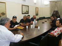 Συνάντηση Τσόκα- Αθίγγανων
