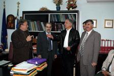 Τουρκική αντιπροσωπεία με τον Δήμαρχο