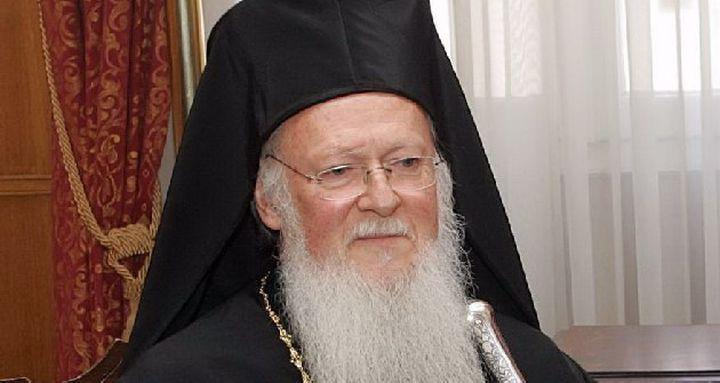 Πατριάρχης, ονομαστήρια, Θεία Λειτουργία στη Μεγάλη Παναγία