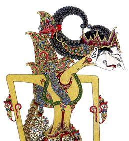 Φιγούρα του Wayang