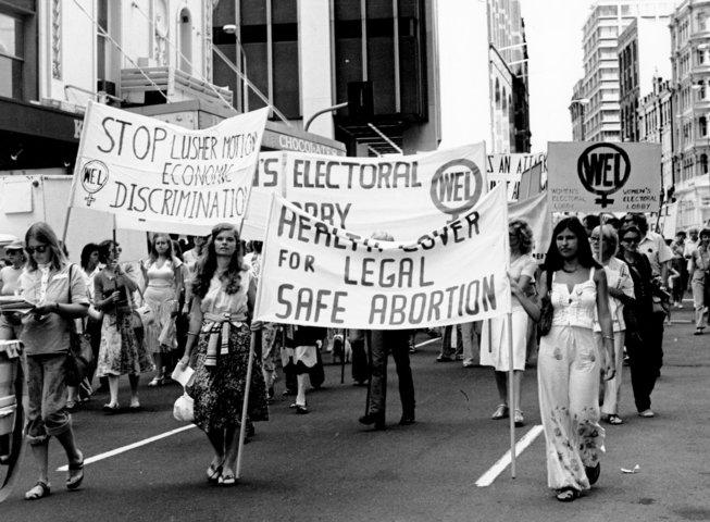 ένα από τα συλλαλητήρια που έγιναν στις ΗΠΑ
