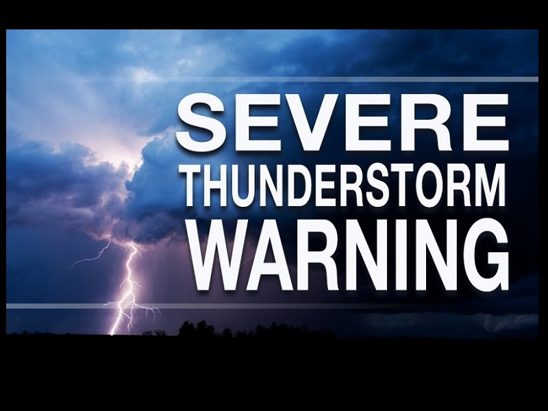 Severe Thunderstorm Warning For Bledsoe Rhea And Meigs