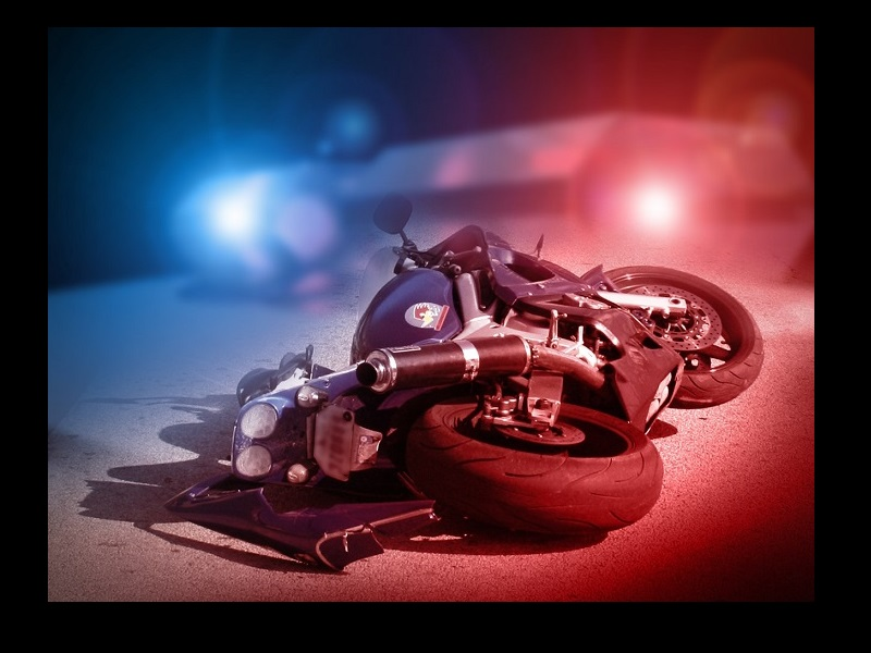 MOTORCYCLIST INJURED IN VEHICLE ACCIDENT ON HIGHWAY 27