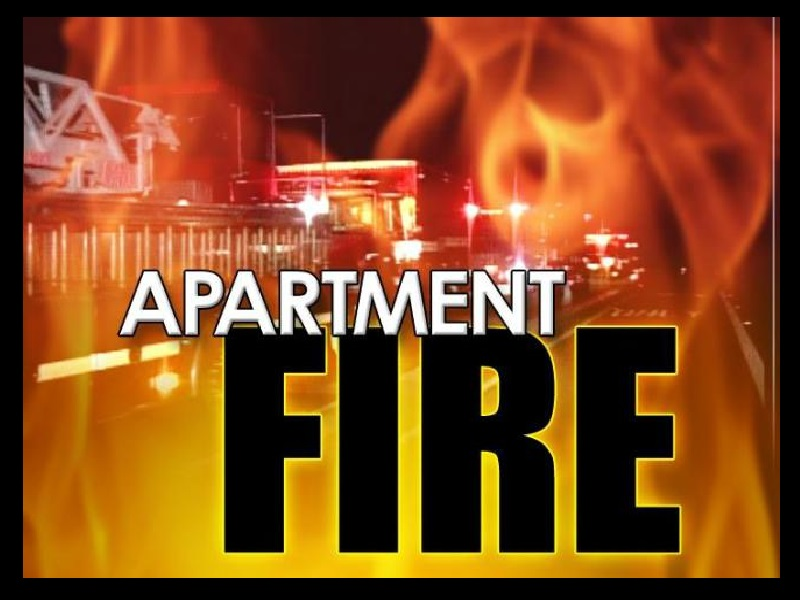 FIRE DESTROYS APARTMENT IN ROANE COUNTY