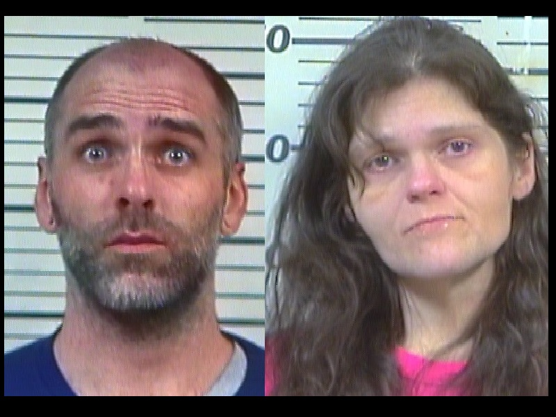 TWO ARRESTED FOR TAKING PACKAGES FROM A PORCH