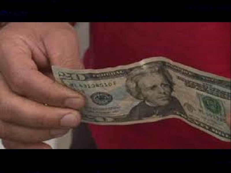 UNKNOWN SUSPECT ATTEMPTS TO PASS FAKE $20 AT ECO TRAVEL