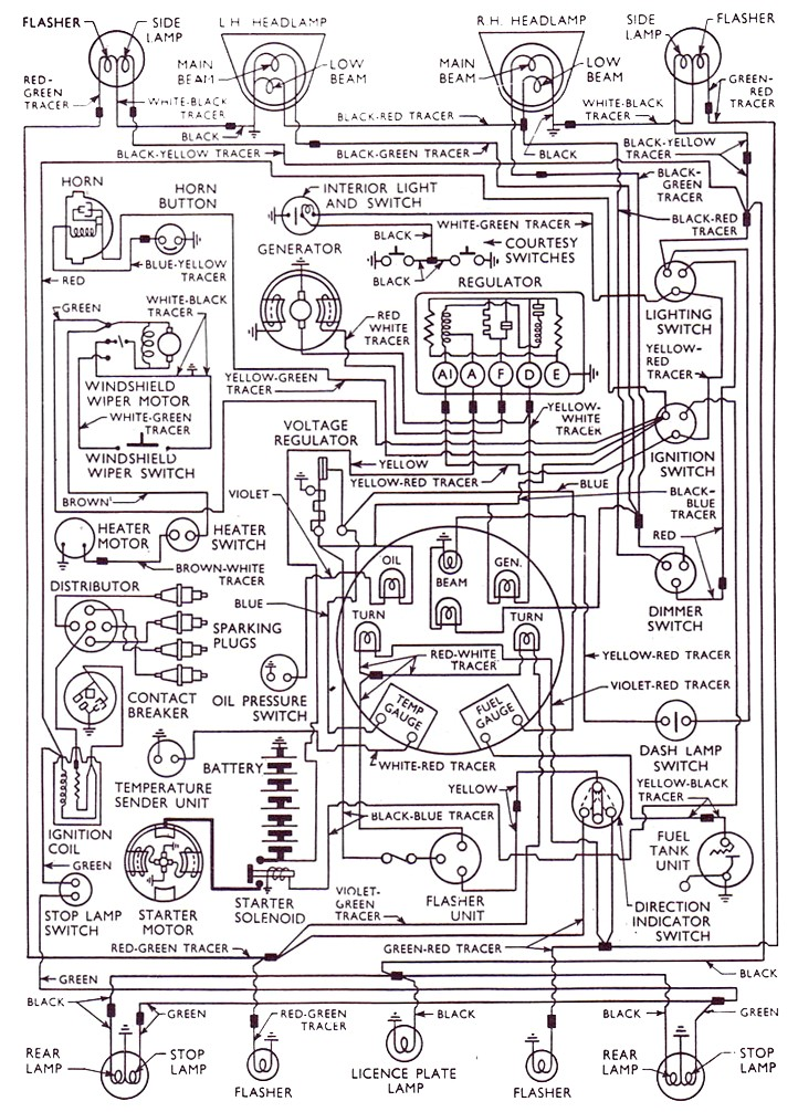 1964 ford fairlane wiring diagram audi a4 exhaust system anglia 59-65 – 105e owners' club