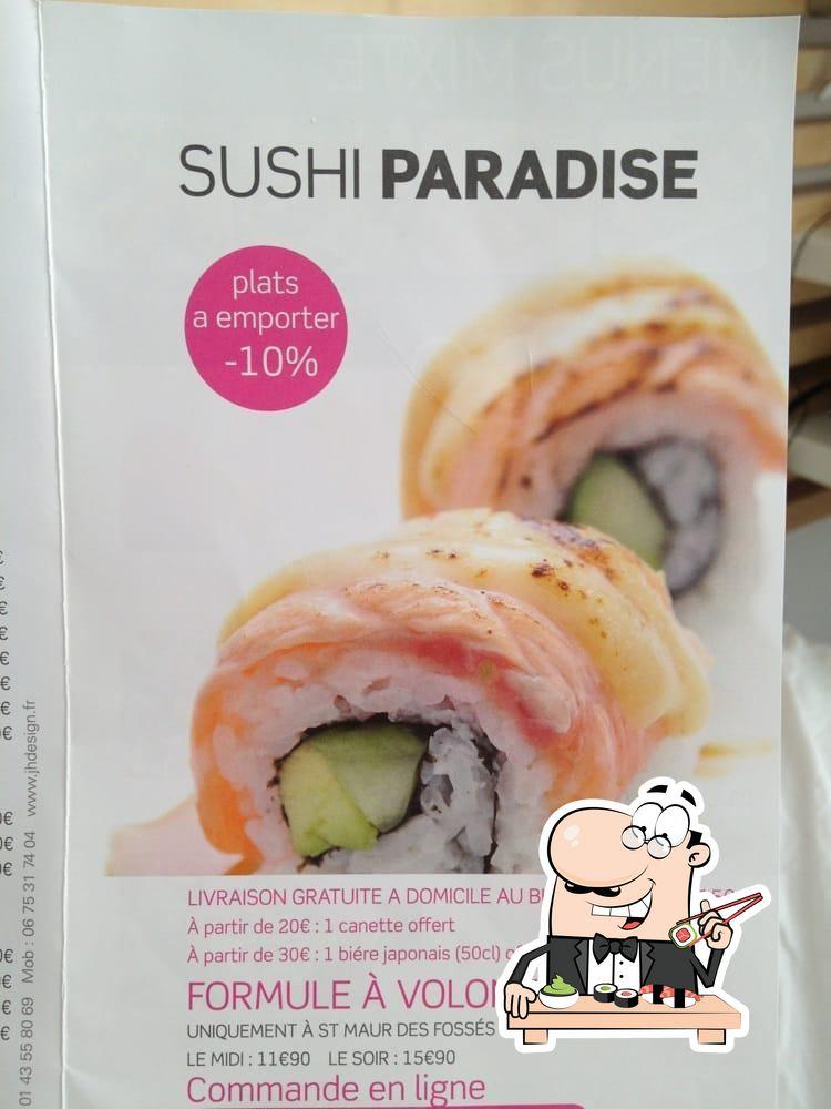 sushi paradise restaurant boulogne