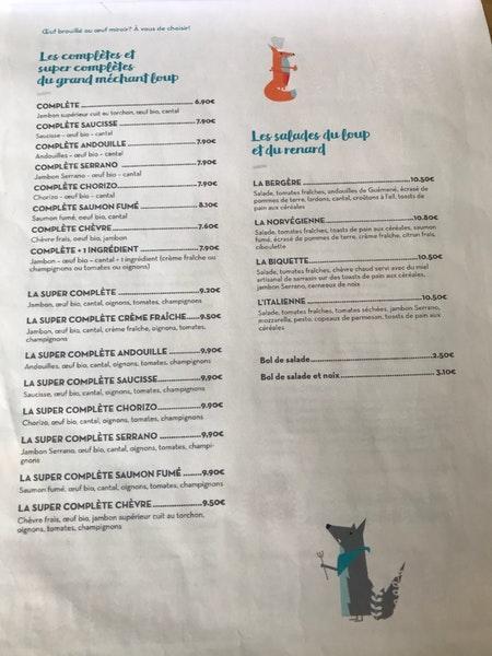Le Renard Et La Galette : renard, galette, Loup,, Renard, Galette, Restaurant,, Nantes, Restaurant, Reviews