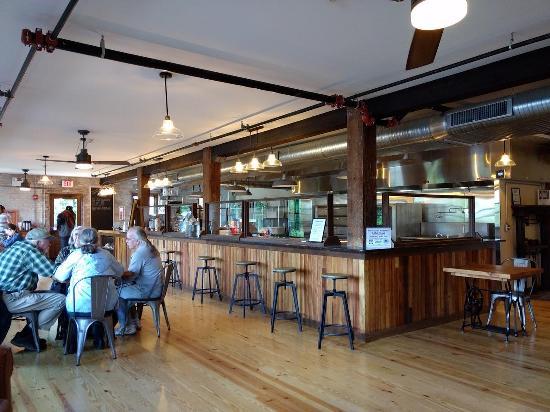 Menu at Poughkeepsie Underwear Factory restaurant