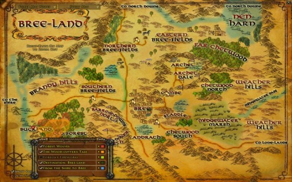 lotr Breeland map - small