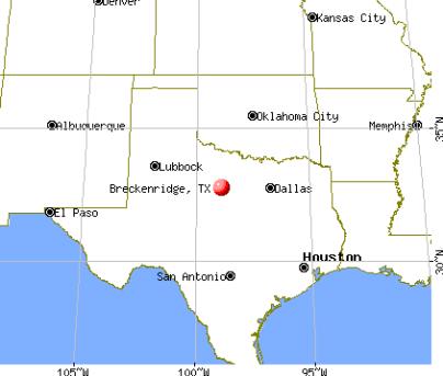 Breckenridge, Texas