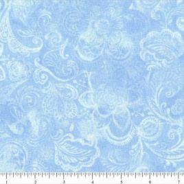 108″ Light Blue Batik II