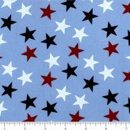 108″ RWB Stars(lg) on Blue