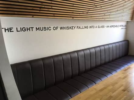 """The light music of whiskey flying into a glass - an agreeable interlude"" - James Joyce"
