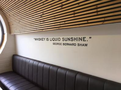"""Whiskey is liquid sunshine."" George Bernard Shaw"
