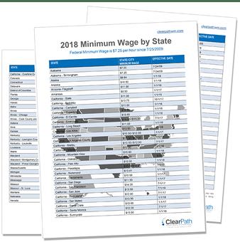 Minimum Wage Cheat Sheet
