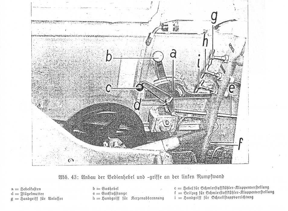 Messerschmitt Bf109E Cockpit Details