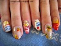 Food Nail Designs | www.imgkid.com - The Image Kid Has It!