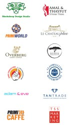 Selection of various logos designed