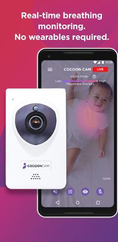 Snapshot of Cocoon Cam App