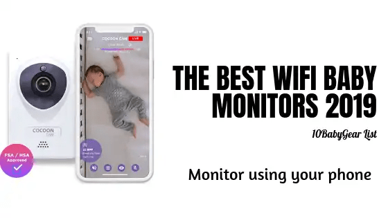 Banner for Wifi baby monitors that link to phone