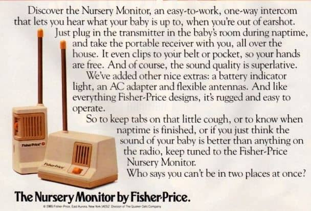 Fisher-price-history-of-baby-monitor-1980s
