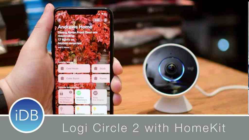 Logitech Circle 2 as Homekit baby monitor