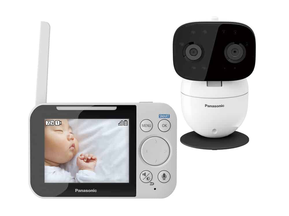 panasonic video baby monitor with 2 way talk