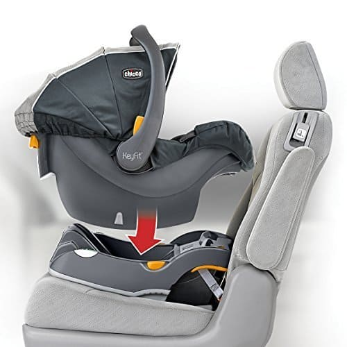 Image of Chicco Keyfit30, 10BabyGear's second best infant car seat in 2019 list.