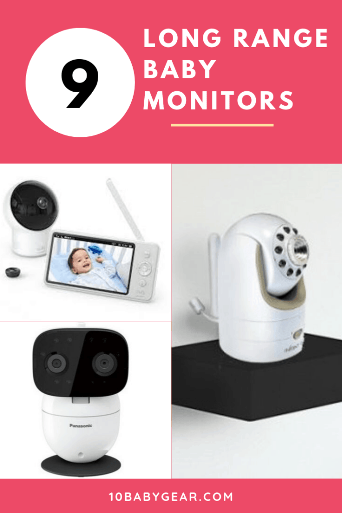 Baby Monitors with the Best Range Pinterest Banner