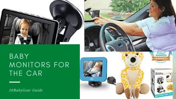 Baby Monitor for Car