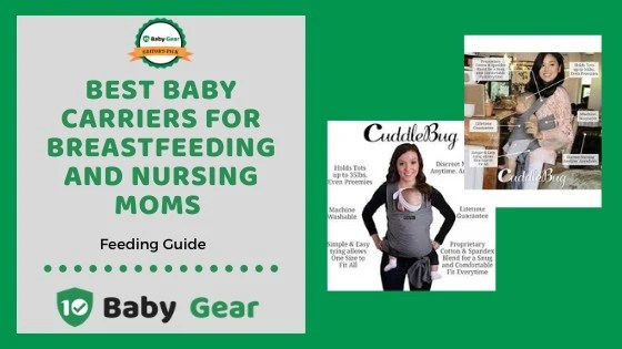5 Best Baby Carriers and Slings for Breastfeeding Reviews 2021