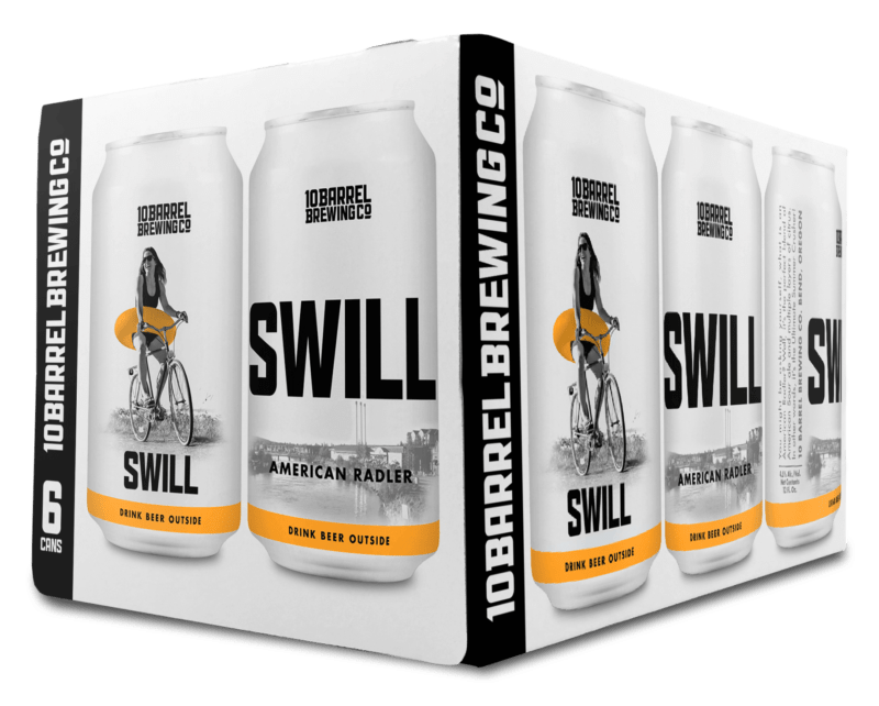 2019 Swill American Radler 6pack by 10 Barrel Brewing Company, Bend, OR since 2006