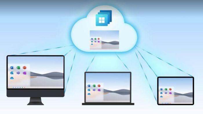 微软的云端Windows 365
