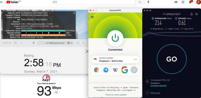 ExpressVPN Macbook Automatic Siingapore Marna - Bay中国VPN翻墙 科学上网 10BEASTS Baary 测试 2021-03-07 at 14.58.18