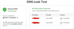 ExpressVPN Windows 设置 help and support - DNS Leak Test