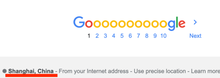 FLoC 跟踪技术 引起google搜索IP错误