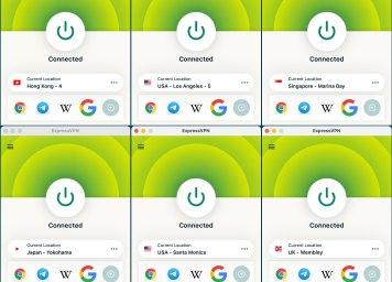 ExpressVPN Macbook Automatic+官方推荐的6个服务器 连接测试 Barry测速 10Beasts-2021-07-08-at-18.15.36