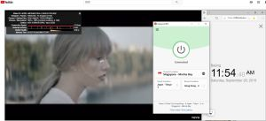 windows expressvpn singapore marina bay YouTube测速-20190928