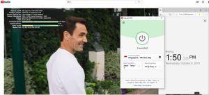 Windows ExpressVPN Singapore - Marina Bay 中国VPN翻墙 科学上网 YouTube速测-20191009