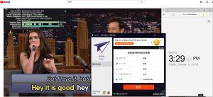 Windows PureVPN United States 中国VPN翻墙 科学上网 YouTube测速-20191011