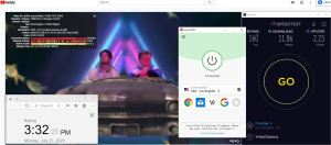 Windows10 ExpressVPN Auto协议 USA - Los Angeles - 5 中国VPN 翻墙 科学上网 测速-20200727