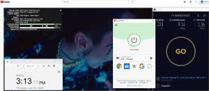 Windows10 ExpressVPN IKEv2协议 USA - Chicago 中国VPN 翻墙 科学上网 测速-20200723